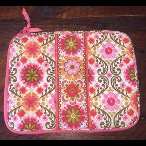 Vera Bradley Folkloric Laptop Case Bag Excellent
